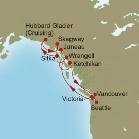 Glaciers and Gardens Itinerary