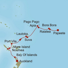 Stunning South Pacific Itinerary