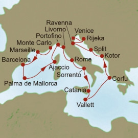 Coastlines of Discovery Itinerary