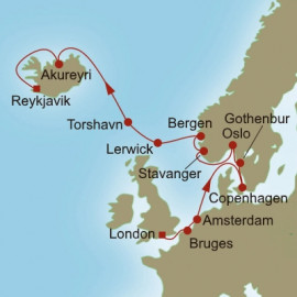 Northern Allure Itinerary