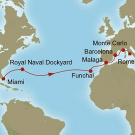 Awe of The Atlantic Itinerary