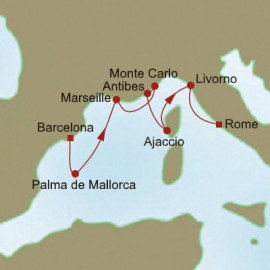 Mediterranean Collage Itinerary