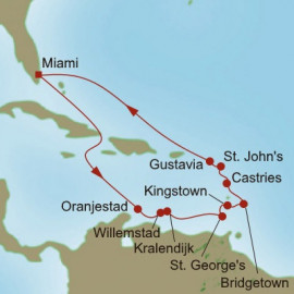 Southern Caribbean Gems Oceania Cruises Cruise