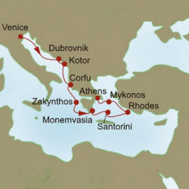 Greek Isles Explorer Oceania Cruises Cruise