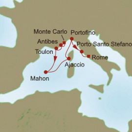 Panoramic Mediterranean Itinerary
