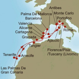 Crowns to Canaries Itinerary