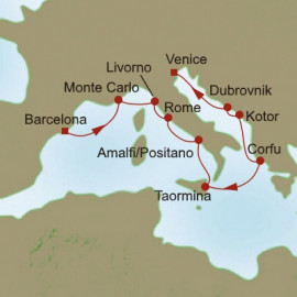 Medieval Mediterranean Itinerary