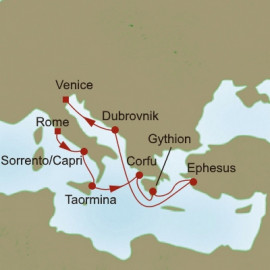 Mediterranean Pathways Itinerary