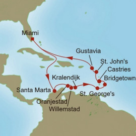 Tropical Breezes Itinerary