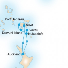 Tongan Explorer P&O Cruises Cruise