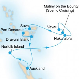Bounty Adventure Itinerary