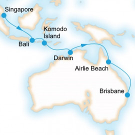 Singapore to Brisbane Cruise