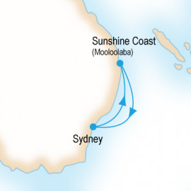 Sunshine Coast P&O Cruises Cruise