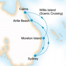 Queensland P&O Cruises Cruise