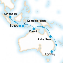 Indonesian Explorer P&O Cruises Cruise