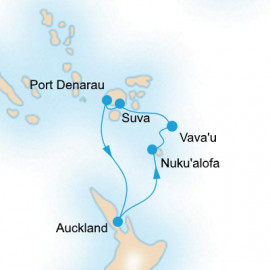 South Pacific P&O Cruises Cruise