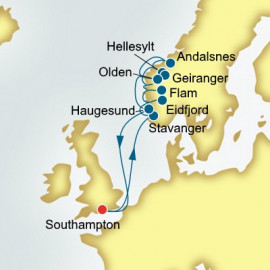 Norwegian Fjords Itinerary