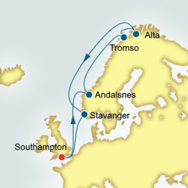 Norway and Northern Lights Itinerary