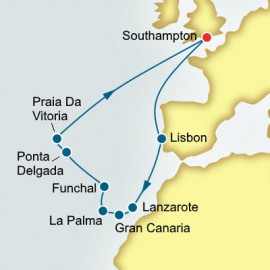 Portugal Canary Islands and Azores P&O Cruises UK Cruise
