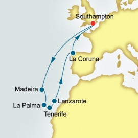 Canary Islands Madeira and Spain P&O Cruises UK Cruise