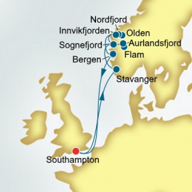 Norwegian Fjords P&O Cruises UK Cruise