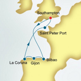 Spain and Guernsey Itinerary