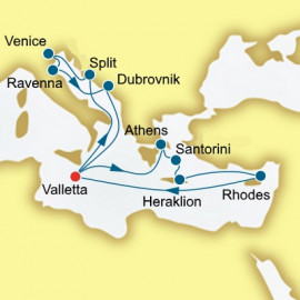 Greece Croatia and Italy Itinerary