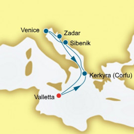 Greece Croatia and Italy P&O Cruises UK Cruise