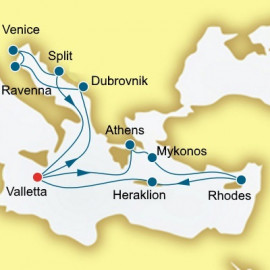 Croatia Greece and Italy P&O Cruises UK Cruise