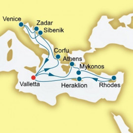 Greece Italy and Croatia Itinerary