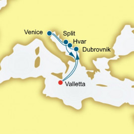 Croatia and Italy Itinerary