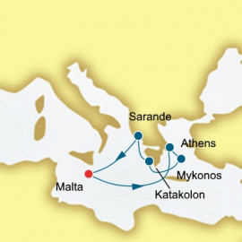 Greece and Albania  Itinerary