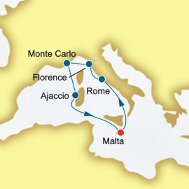 Italy Monaco and Corsica  P&O Cruises UK Cruise