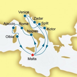 Croatia Montenegro and Italy  Itinerary