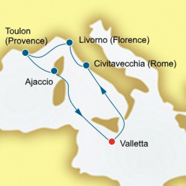 Italy and France Itinerary