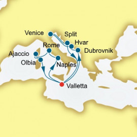 Croatia Italy and Corsica P&O Cruises UK Cruise