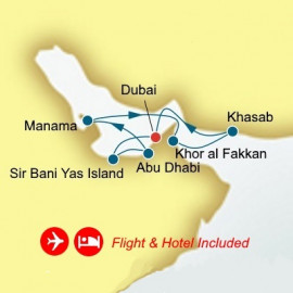 Fly Cruise Holiday Arabian Gulf