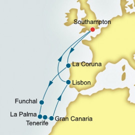 Spain and Canary Islands and Portugal Itinerary
