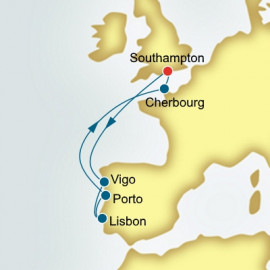 Spain and Portugal and France Itinerary