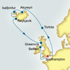 Faroe Islands and Iceland and Ireland  P&O Cruises UK Cruise