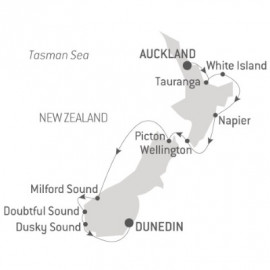 The Best of New Zealand Itinerary