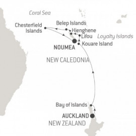 Discover New Caledonia Ponant Cruise