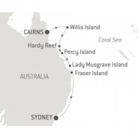 Explore Australia East Coast Islands Ponant Cruise