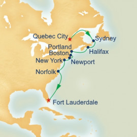 Canada and Colonial America Itinerary