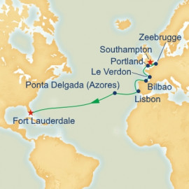 Western Europe Passage Itinerary