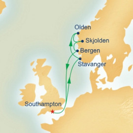Norwegian Fjords Princess Cruises Cruise