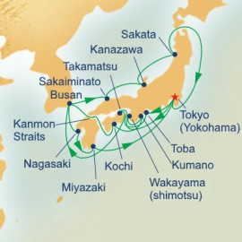 Grand Japan with Kumano Firewo rks Itinerary