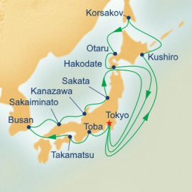 Hokkaido and Sea of Japan Princess Cruises Cruise