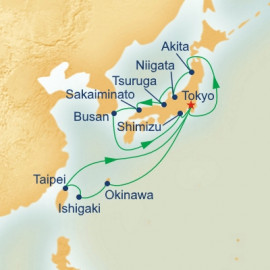 Fall Foliage Sea of Japan and Southern Islands Itinerary