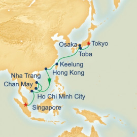 New Years Eve Southeast Asia and Japan Princess Cruises Cruise